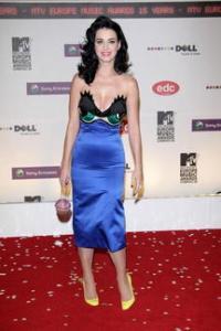Katy Perry in Jean Charles De Castelbajac