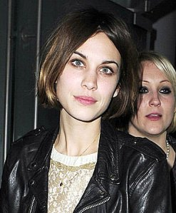 Alexa Chung new bobbed haircut
