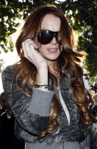 Lindsay Lohan sighting on April 8, 2009 in Beverly Hills, California.