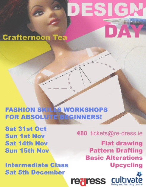 crafternoon tea october flyer