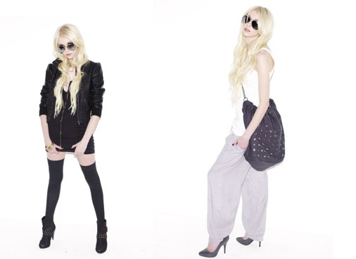 Autumn Fashion, by Taylor Momsen in Teen Vogue September 2009